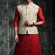 Menz Waist Coat Kurta Designs
