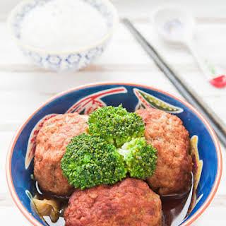 Lion Head Meatballs.