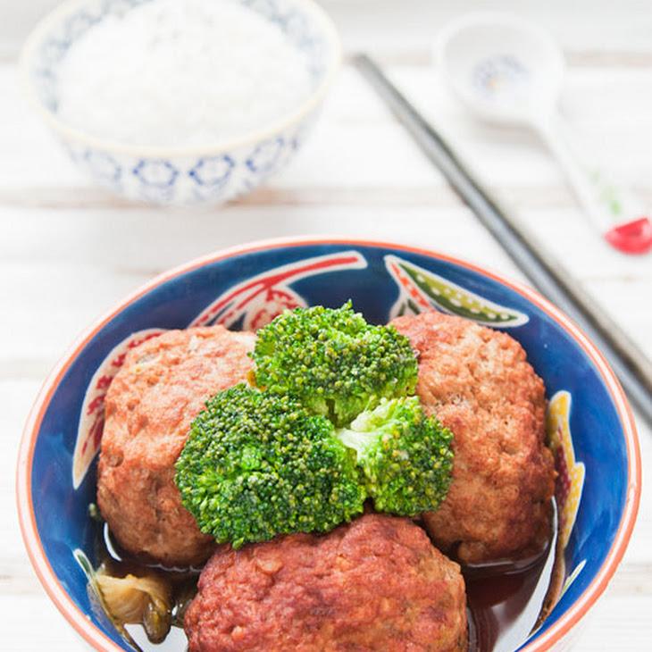 Lion Head Meatballs