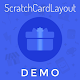 ScratchCardLayout Demo