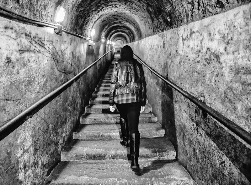 Tunnel in salita di Diana Cimino Cocco