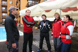 Photo: team OLD_SKIPPER Fjodor, Evgenij, Vadim, Katerina and Valentina  photo by Zlata Bredova