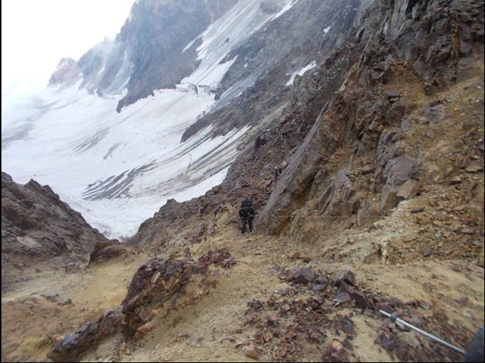 Отчет о горном туристском путешествии 4 к.сл., по Центральному Кавказу
