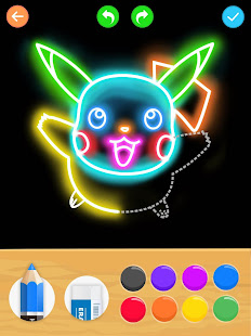 App Draw Glow Cartoon - How to draw APK for Windows Phone