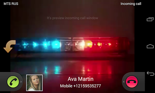 Video Caller Id Screenshot