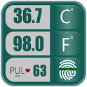 Body Temperature : Fever Thermometer History Diary icon