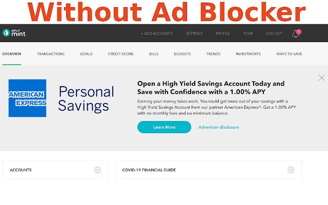 Mint Ad Blocker