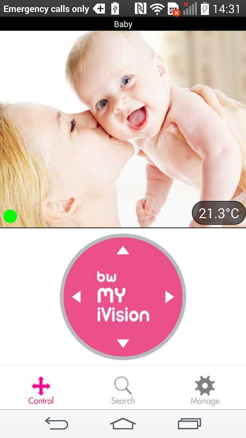 BW MyIVision v2: screenshot