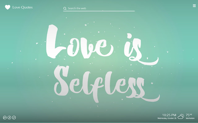 Love Quotes HD Wallpapers New Tab Theme