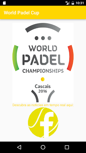 World Padel Championships  screenshots 1