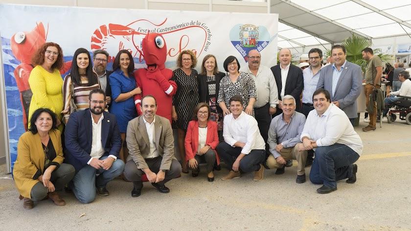 El II Festival de Gamba Roja de Garrucha ha tenido una importante afluencia de visitantes.