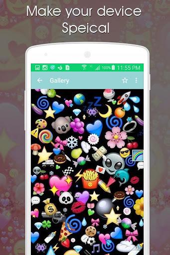玩免費遊戲APP|下載Emoji Backgrounds app不用錢|硬是要APP