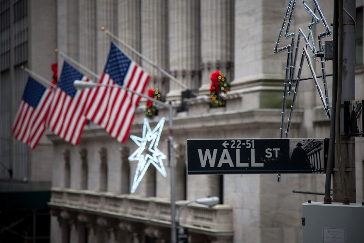 Wall Street. Picture: BLOOMBERG/MICHAEL NAGLE