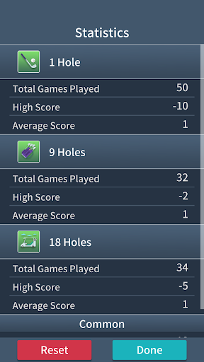 Golf Solitaire Classic - screenshot