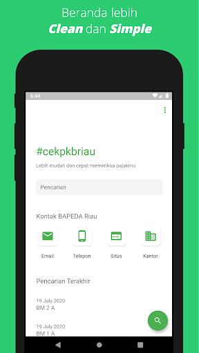 Cek Pajak Kendaraan Bermotor Riau 2.0.1 screenshots 2