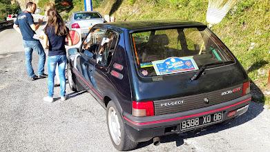 Photo: La voiture balai du rallye... Facile à identifier!