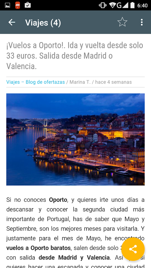 Blog de Ofertazas- screenshot
