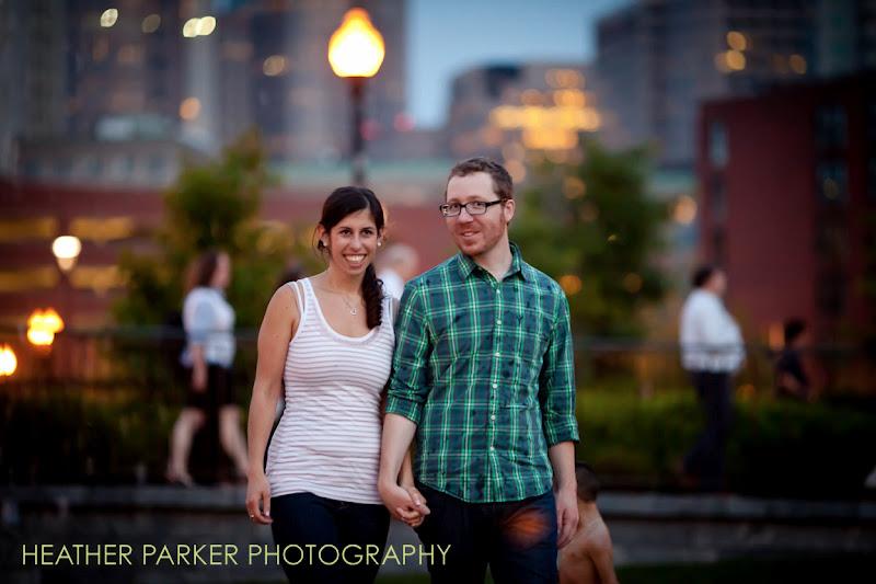 Photo: North End Boston engagement photos