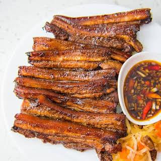 Grilled Pork Belly.