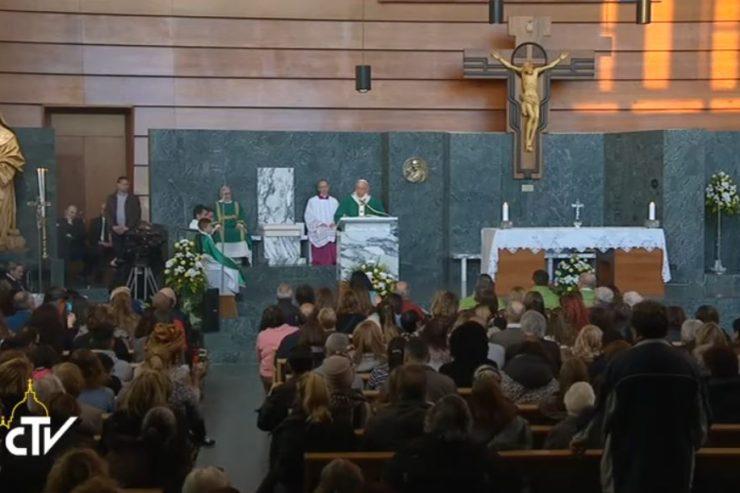 Bài giảng của Đức Thánh Cha tại nhà thờ Thánh Mary Josephine giáo xứ Thánh Tâm Giê-su thuộc ngoại vi Roma