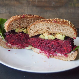 Smoky Chipotle Beet and Quinoa Burgers