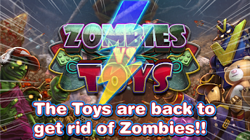 Screenshot of Zombies vs Toys