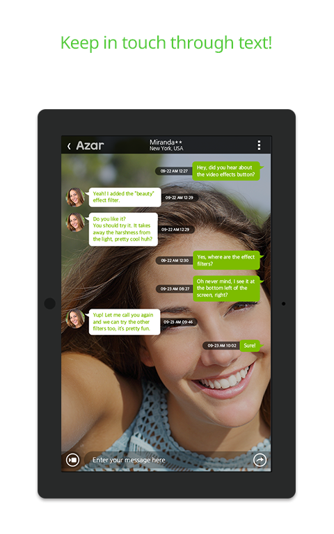 Azar-Video Chat&Call,Messenger - screenshot