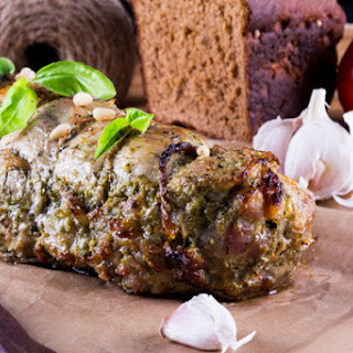 Pork Stuffed With Pesto