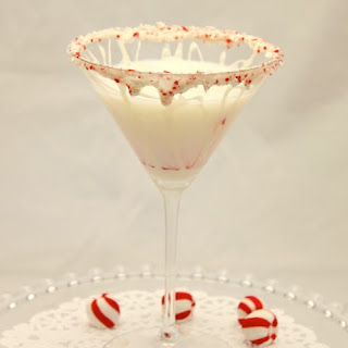 White Chocolate Peppermint Martini.