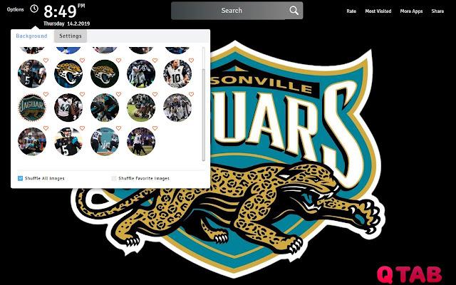 Jacksonville Jaguars Wallpapers Theme New Tab