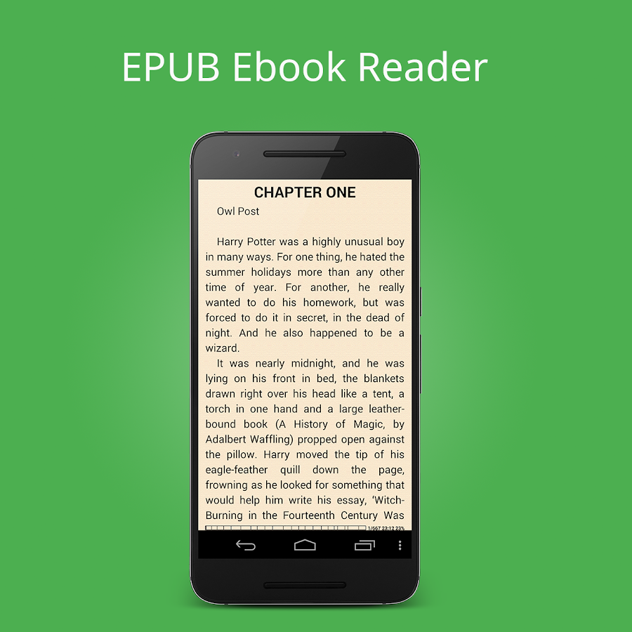 Ebook Reader (epub txt mobi)- screenshot