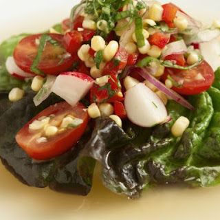 Gourmet Corn Salad.