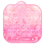 Pink Bubble Keyboard Theme Android APK Download Free By Fancy Love Tema