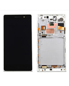 Lumia 830 display with frame Silver