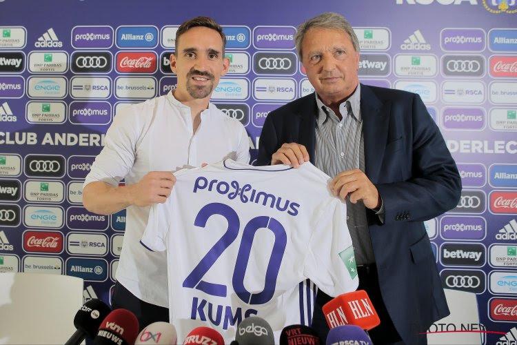 """Sven Kums de retour à la maison: """"Je n'ai pas hésité longtemps"""""""