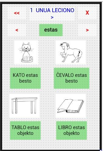 Esperanto course/kurso- screenshot