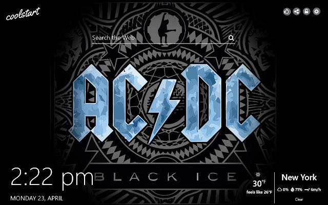 AC/DC HD Wallpapers Rock Music New Tab Theme