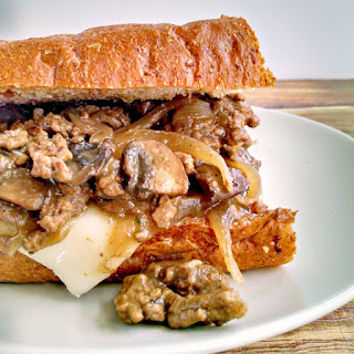 Hot Hamburger Hoagie.