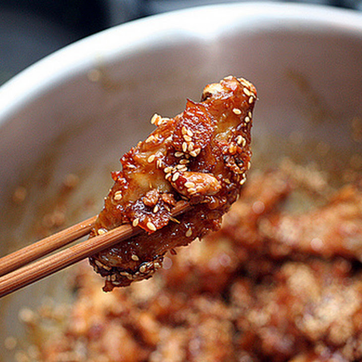 Sweet and Crispy Chicken Wings