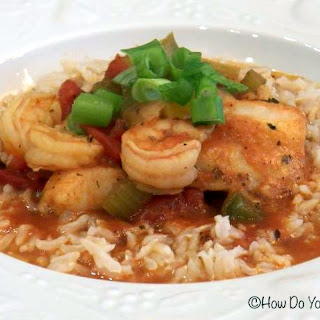 Swai and Shrimp Creole Chowder