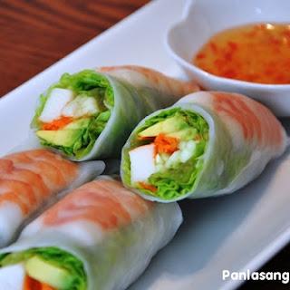 Sushi Summer Rolls.