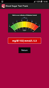Blood Sugar Test Prank screenshot 2