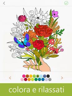 disegni da colorare dal fiore al frutto