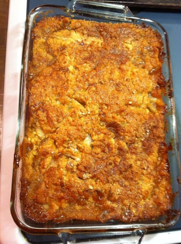 Caramel Apple Cobbler Recipe