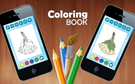 ColoringPagesプリンセスドール