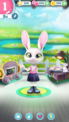 Bu the Baby Bunny - Cute pet care game 1.03 Screenshots 6