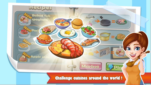 Chef Fever: Crazy Kitchen Restaurant Cooking Games - screenshot