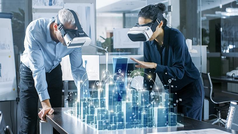 Virtual reality is being used by local businesses for training, collaboration and visualisation.