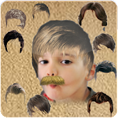 Face Changer Hair mustache