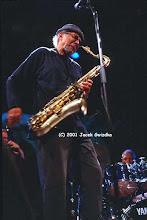 Photo: Charles Lloyd 2001 (Montreal Jazz Festival)